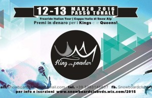 flyer_king of powder_2016