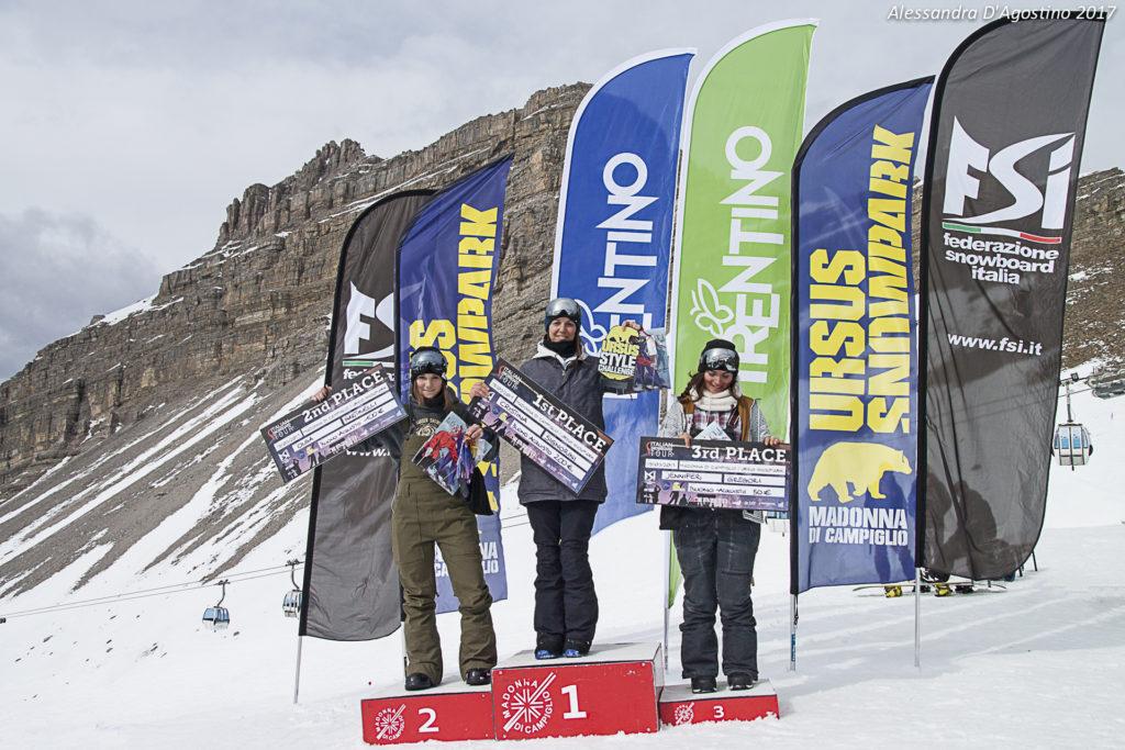 Ursus Style Challenge - podio donne - foto Alessandra DAgostino - 4269